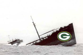 Packers sinking ship