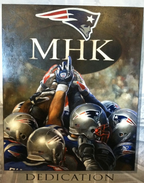 New England Patriots MHK